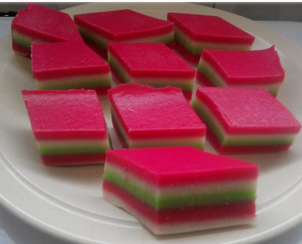 My Kitchen Corner 2nd Version Resepi Kuih Lapis Tepung Beras