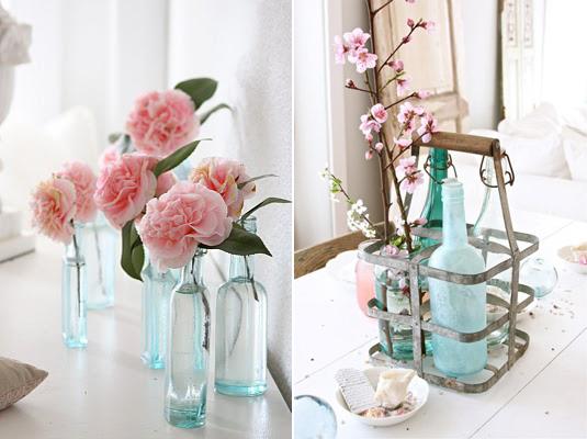 Mes petits vases boda etc