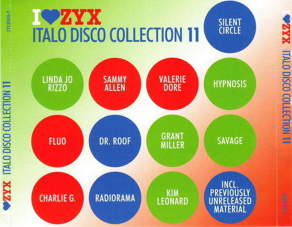 VA - I Love ZYX Italo Disco Collection 11 3 CD!