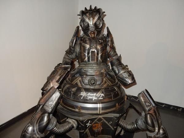 Doctor Who Skovox Blitzer robot prop