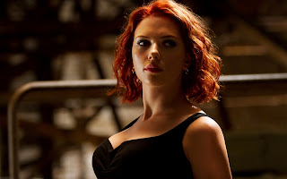 Scarlett Johansson as Black Widow The Avengers 2012 HD Wallpaper
