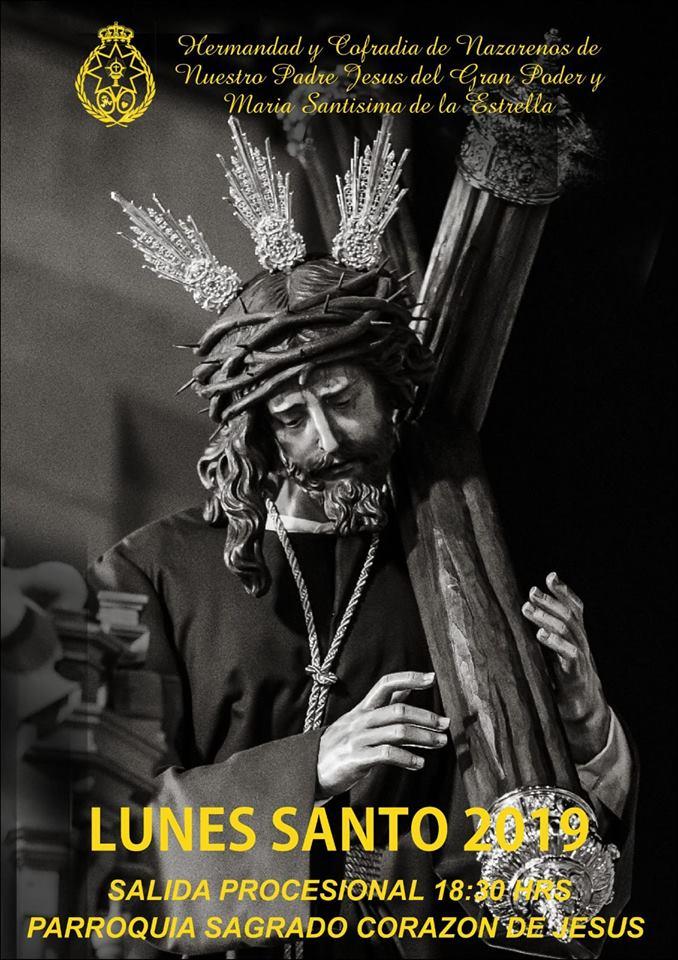 CARTEL NTRO. PADRE JESÚS DEL GRAN PODER