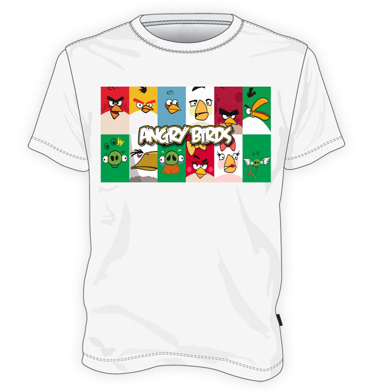 koszulka angry birds