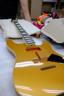大野楽器オリジナルギター ストラトポール