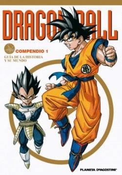Portada Dragon Ball - Compendio 1: Guia de la historia y su mundo