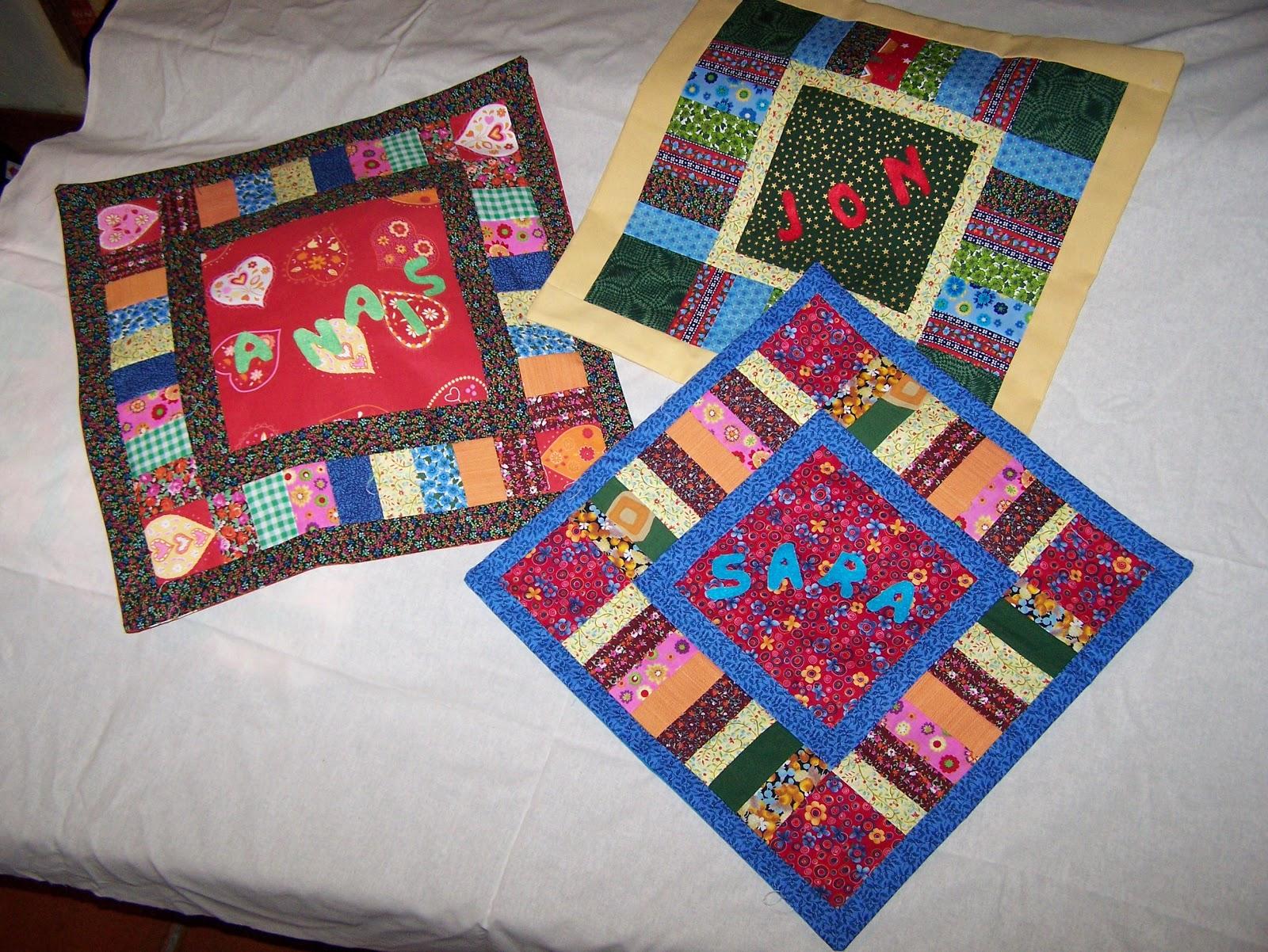 La petite maison de patchwork cojines personalizados cushions coussins - Cojines de patchwork ...