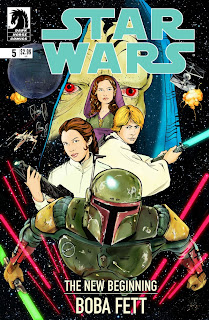 Star Wars - Cover - Dark Horse Comics - Boba Fett New Beginning - Cesare Asaro