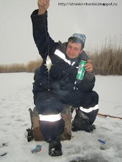 ловля тарани со льда