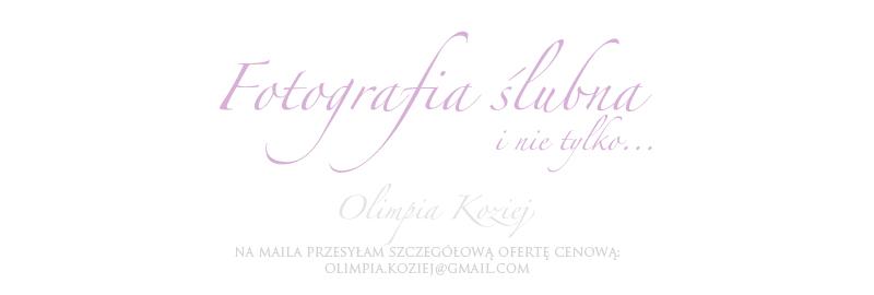Olimpia Koziej fotografia ślubna