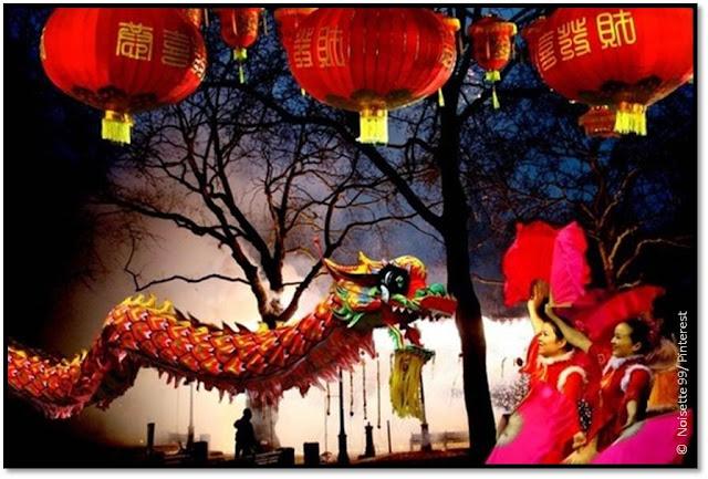 défilé Nouvel An Chinois dragon