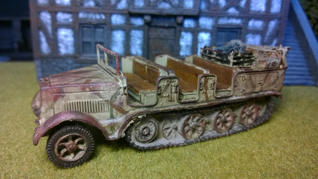 sdkfz 7 28mm bolt action warlord chain of command german transport tow