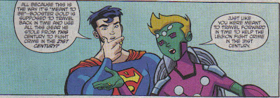 Oh, no, Supes for Booster, that seems a fair trade...