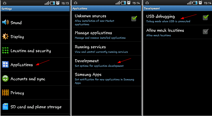 Update Samsung Galaxy Mini S5570 with Official Gingerbread DDKQ7 2.3.4