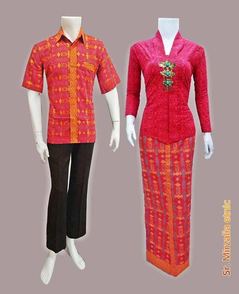 Baju Batik Gamis Sarimbit Modern Etnic Batik Bagoes Solo