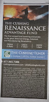 Cushing Renaissance Advantage Fund Ad
