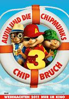 Alvin y las ardillas 3 (2011) online y gratis
