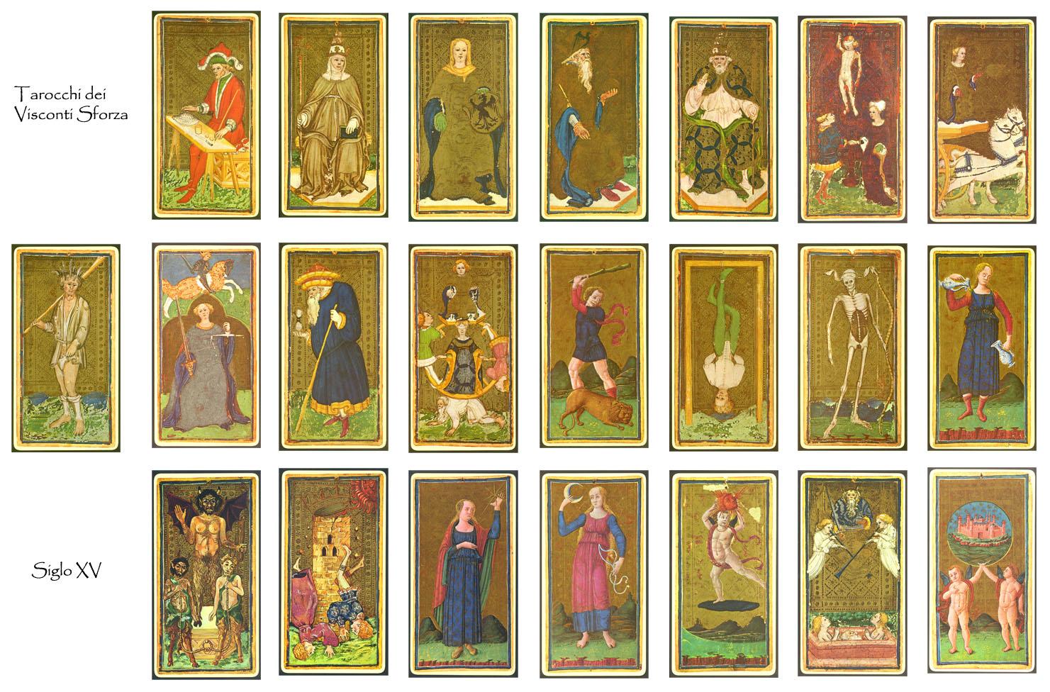 lectura de las cartas y el tarot: