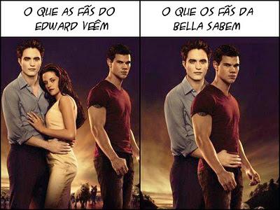 Edward Cullen, Bella Swan e Jacob Black, crespusculo, twilight, triangulo amoroso, gay
