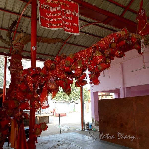 Anjani Mata Temple, Salasar, Rajasthan