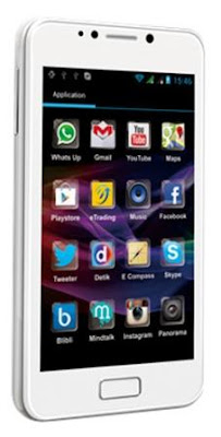 Polytron W2500, Spesifikasi, Harga Phablet, Android Ice Cream Sandwich, Berkulitas, Murah, Dual-core 1GHz, Layar IPS 5 Inci.