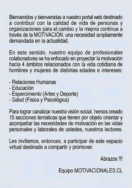 BIENVENIDOS(AS) A NUESTRO PORTAL WEB