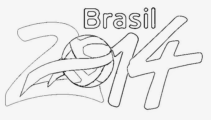 Malvorlagen Fußball WM 2014 Kostenlos