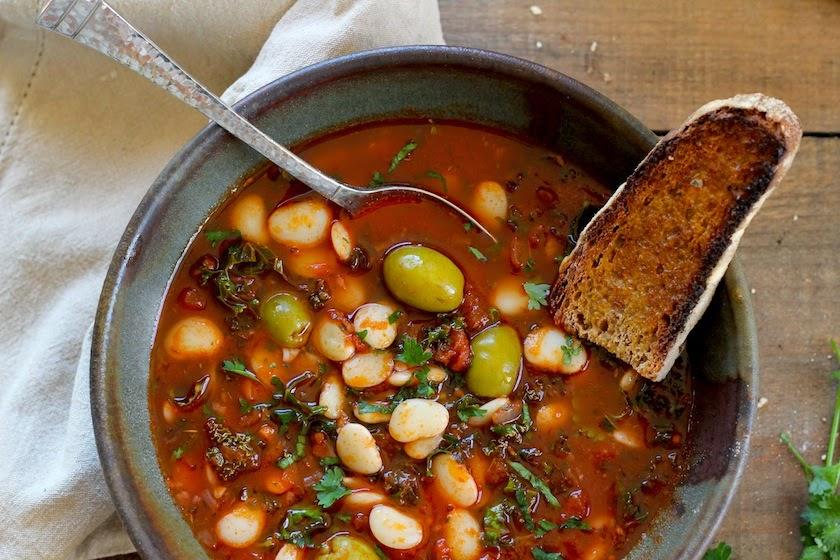 Kitchen Vignettes by Aubergine: Lima Bean Stew with ...