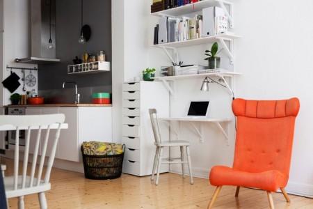 Apartamento de 42 metros cuadrados con excelente for Decoracion apartamento tipo estudio