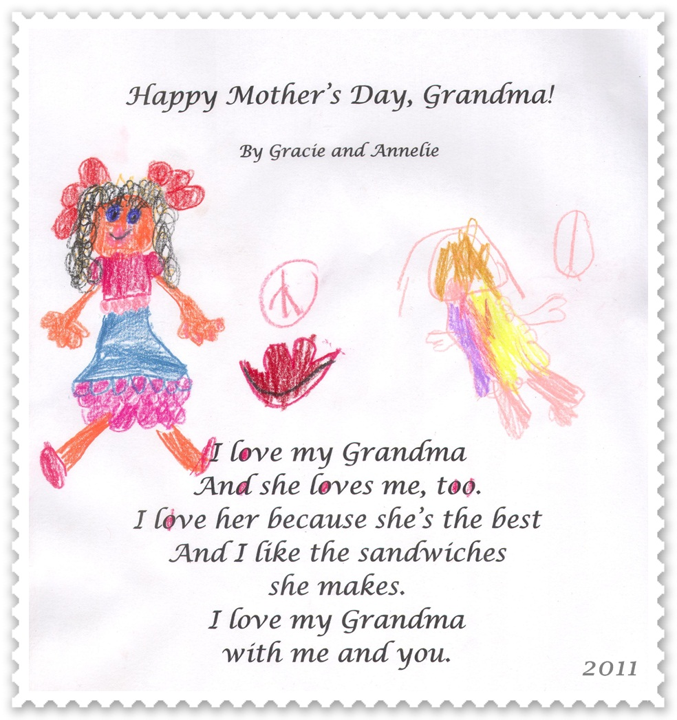 Poems For Grandma For Mothers Day Happy Mother 39 s Day Heaven Poem