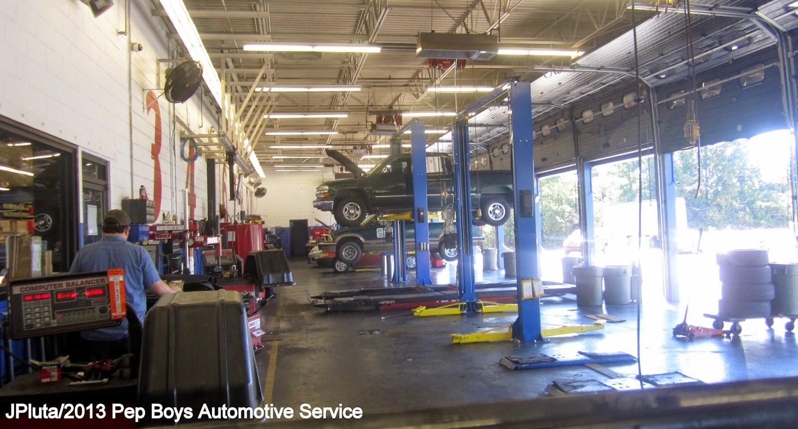 The Garage Service Center : Auto parts stores repair shops pep boys