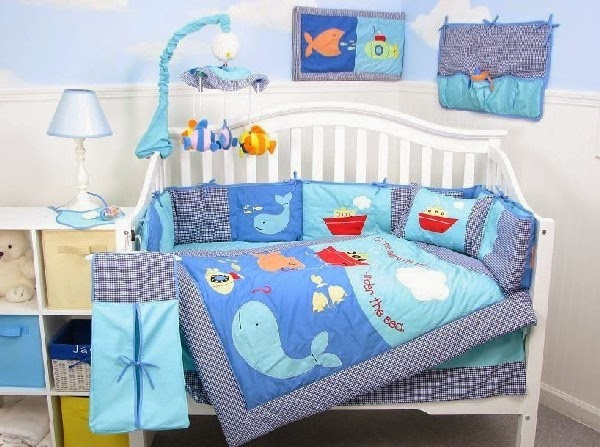 Amazing baby bedrooms decorating ideas blue colored