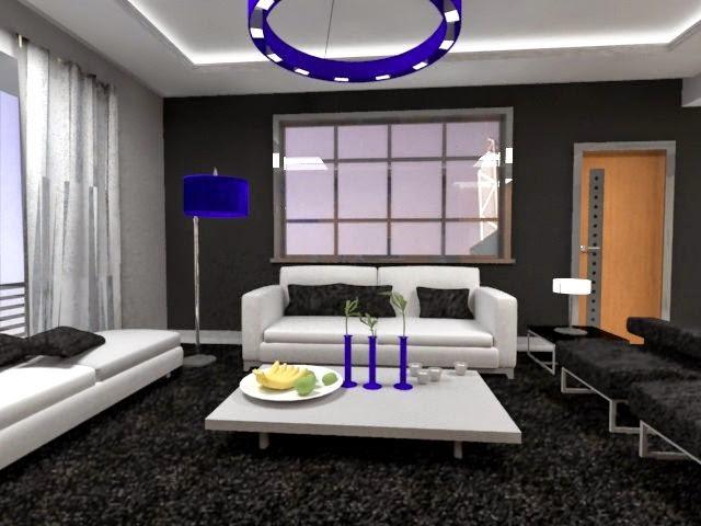 Departamento moderno de l neas rectas arquitectura for Colores departamentos modernos