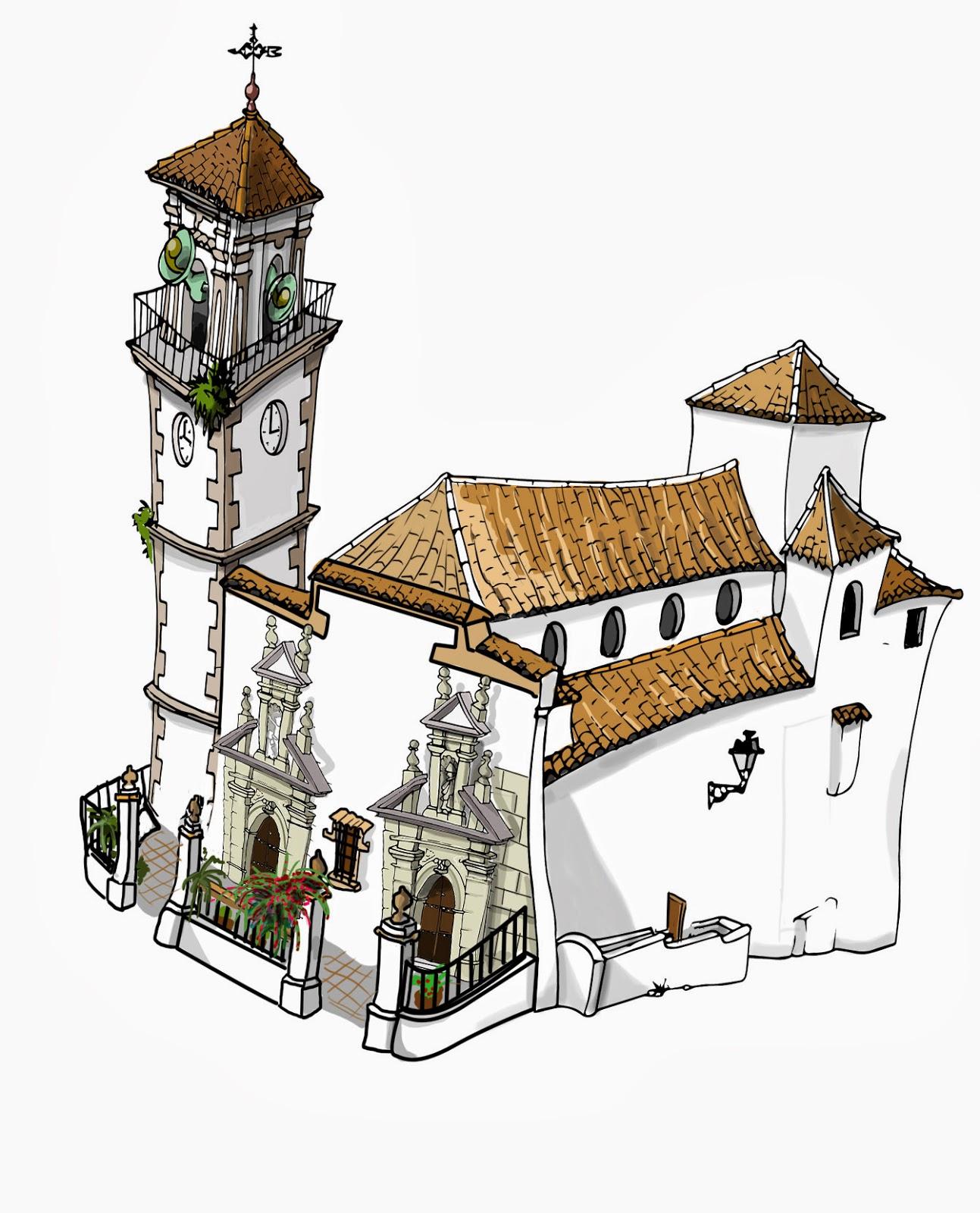 """< img src=""""Iglesia Encarnación.jpg"""" alt="""" Iglesia en Clave de Cómic"""">"""