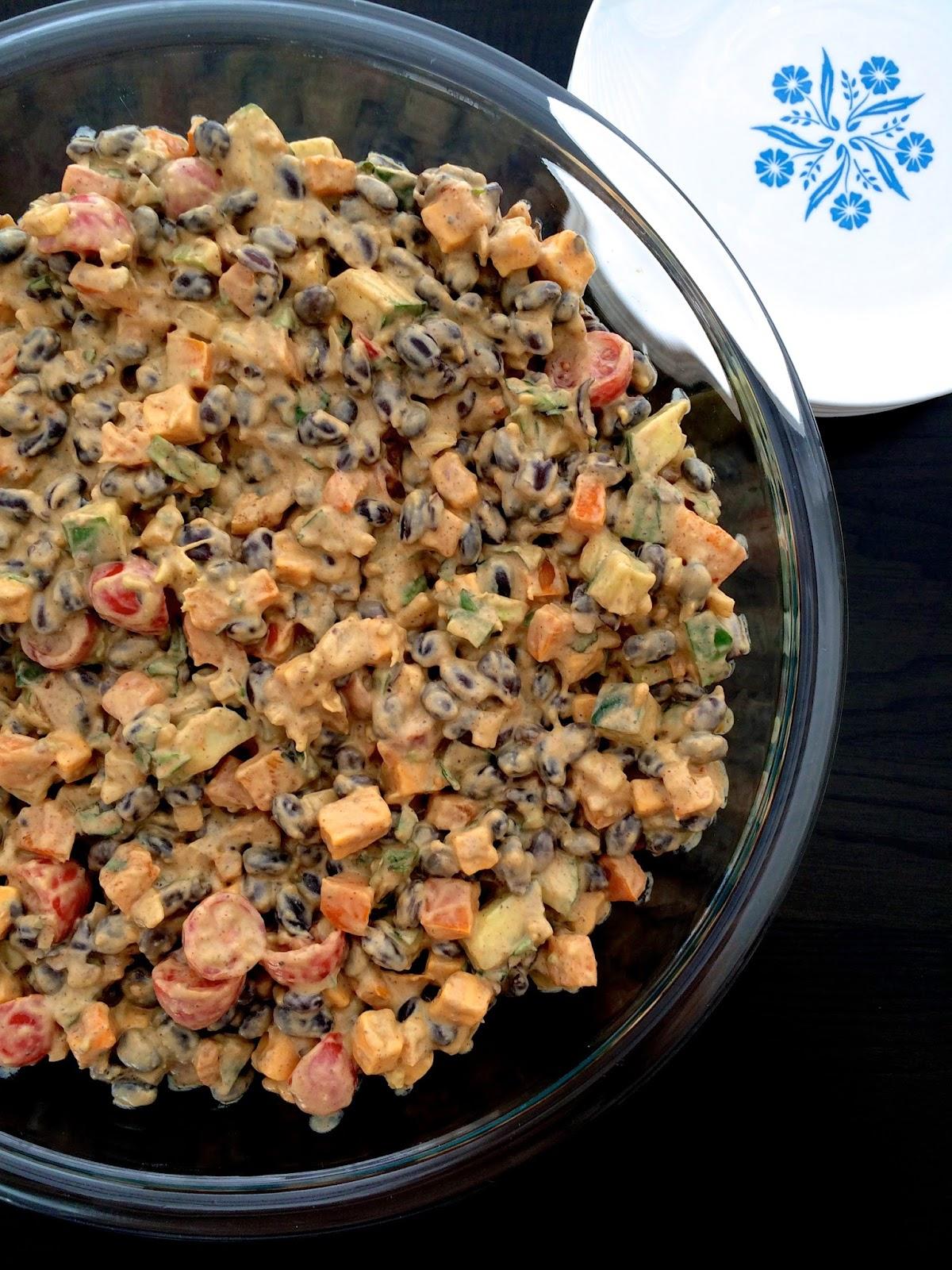 Guacamole Bean Salad