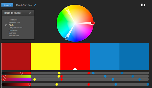 règles de couleur