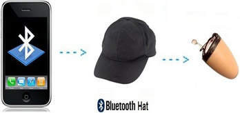 Spy Bluetooth Cap