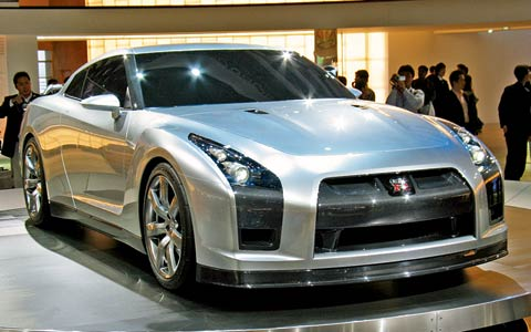 Nissan on Nissan Skyline Gtr R35 Concept Car Images 2 Jpg