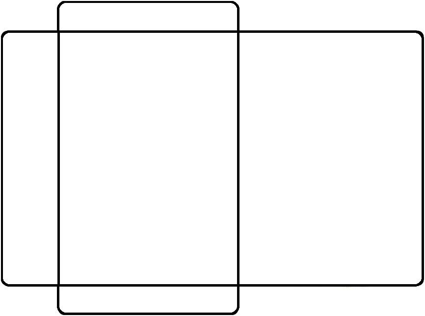 Super AQUARELINHA: Moldes Envelopes GW05