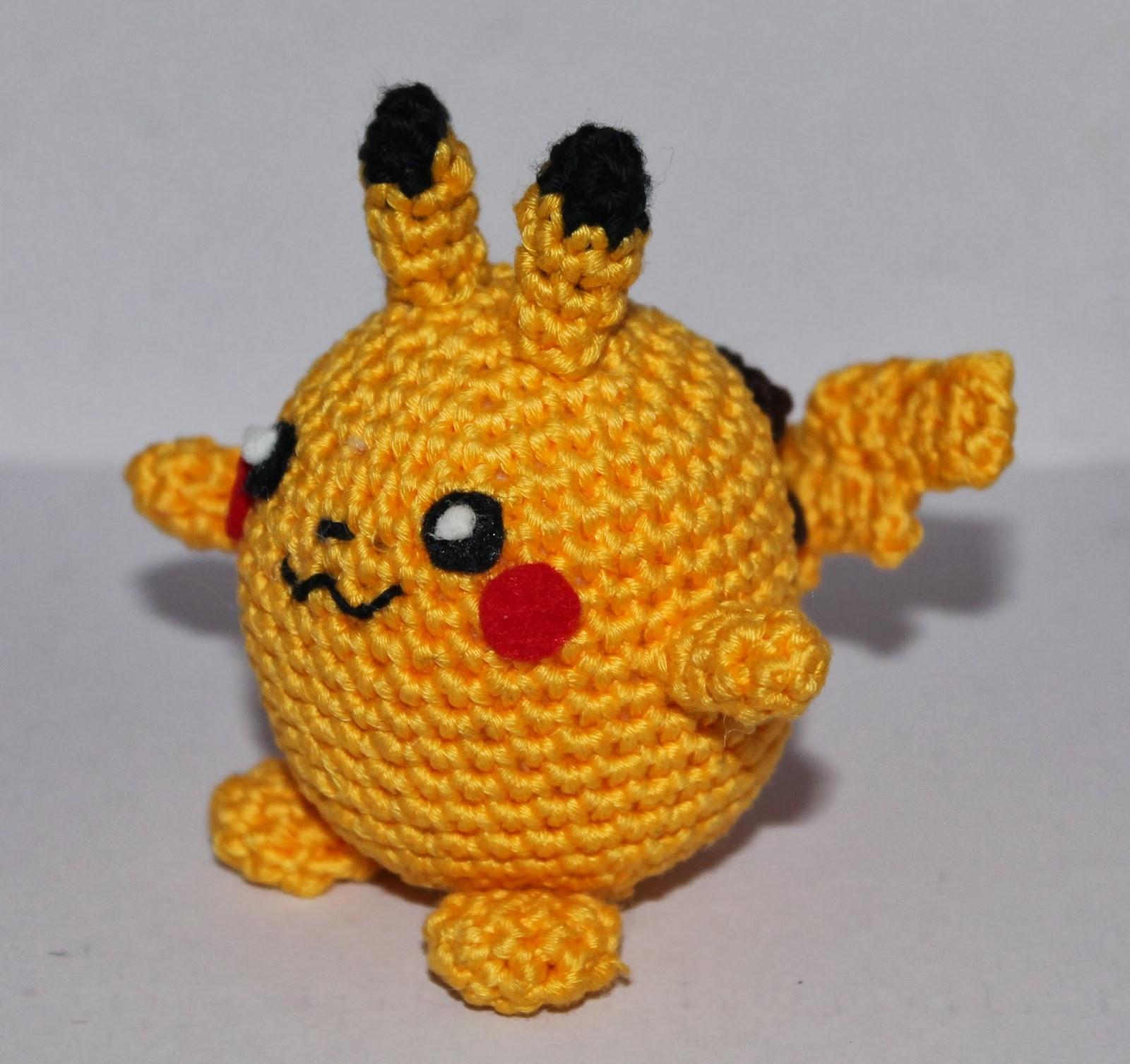 Doni handmade: Chubby pikachu pattern