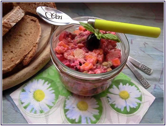 Russischer Salat Vinaigrette