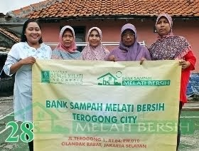 Bank Sampah Melati Bersih Terogong City