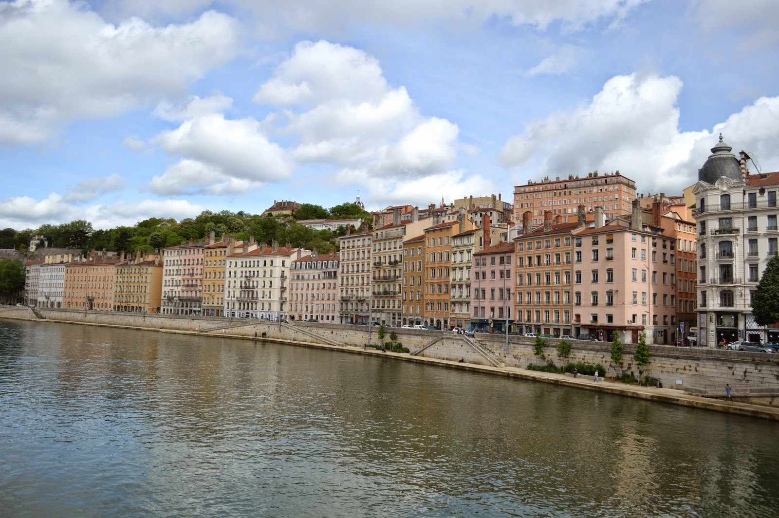Riverside in Lyon