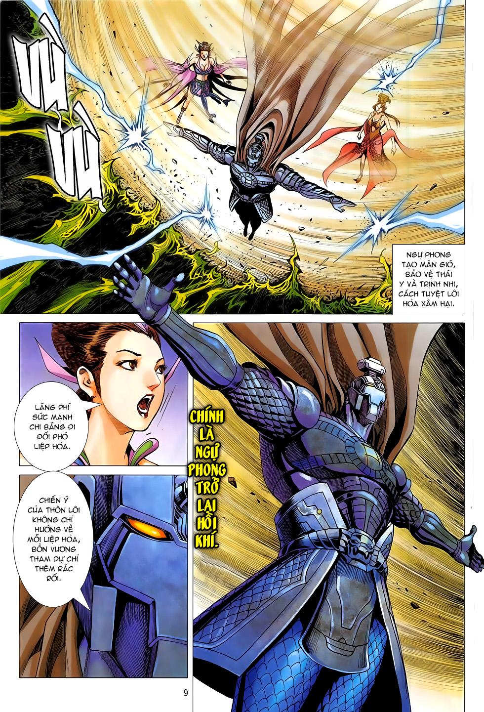 Chiến Phổ chap 19 - Trang 9