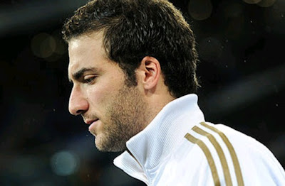 Higuain leaving the Real Madrid