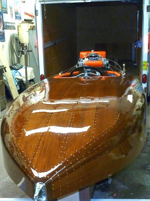 Luxury Oak Boat