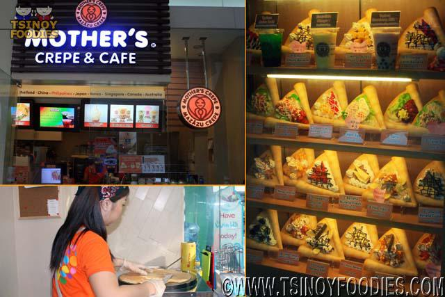mothers crepe and cafe philippines