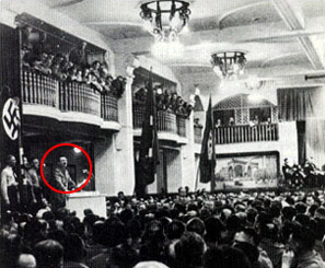 Discurso de Hitler en Bürgerbräukeller , 1939