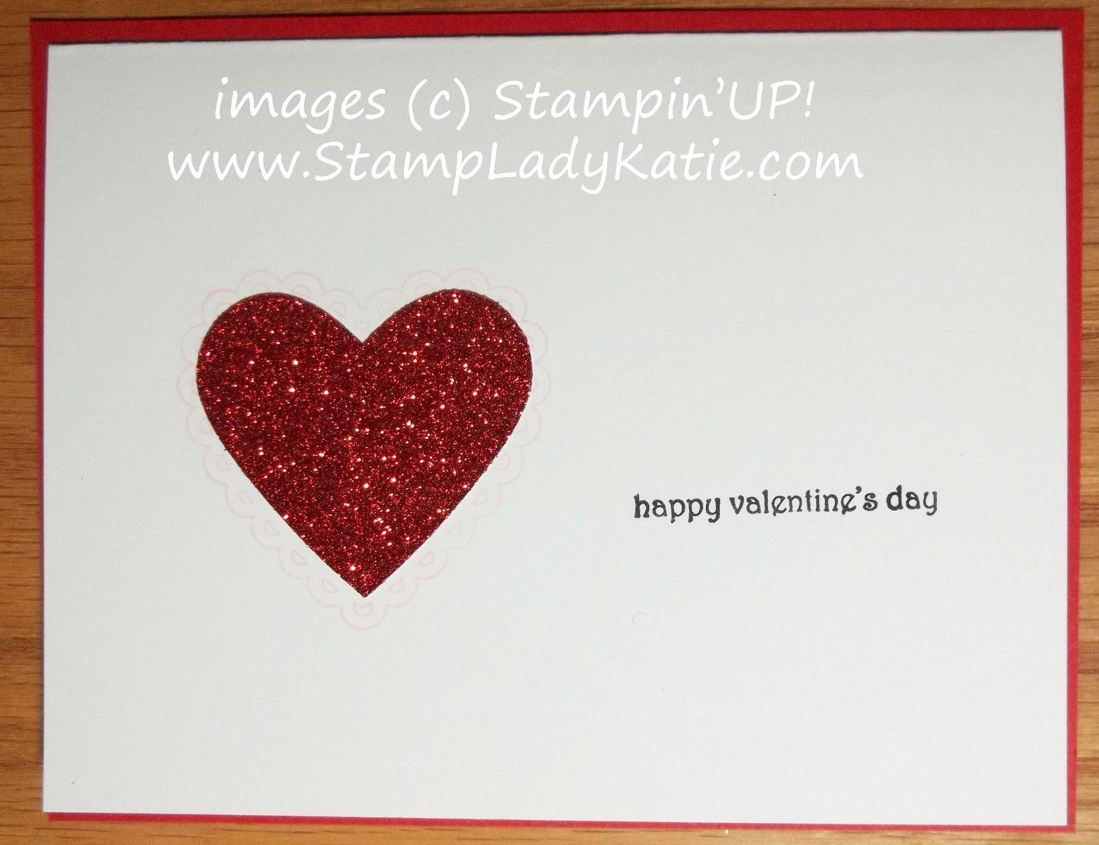 Stampladykatie anniversary valentine card