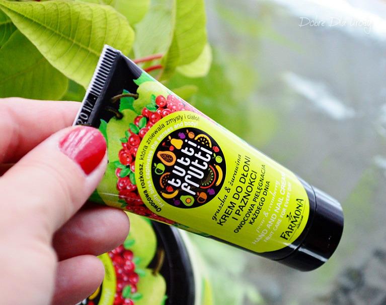 Farmoną Tutti Frutti Gruszka & Żurawina krem do rąk