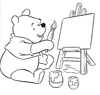 Coloring Pages Winnie The Pooh Baby #1